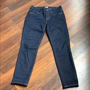 J. Crew Petite High Rise Skinny Jeans